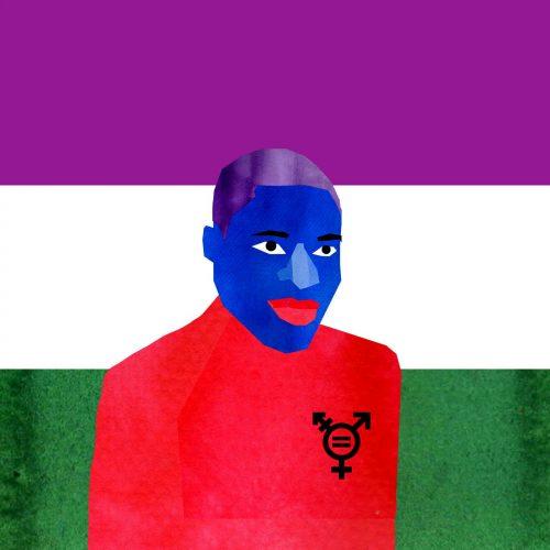 Témoignage d'un·e non binaire, Roseaux, magazine féministe